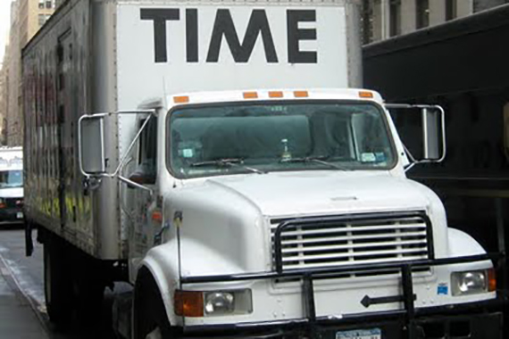 time moving truck